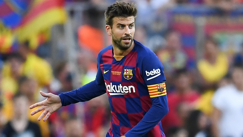 Barcelona boss Valverde: Pique must focus amid Davis Cup commitments