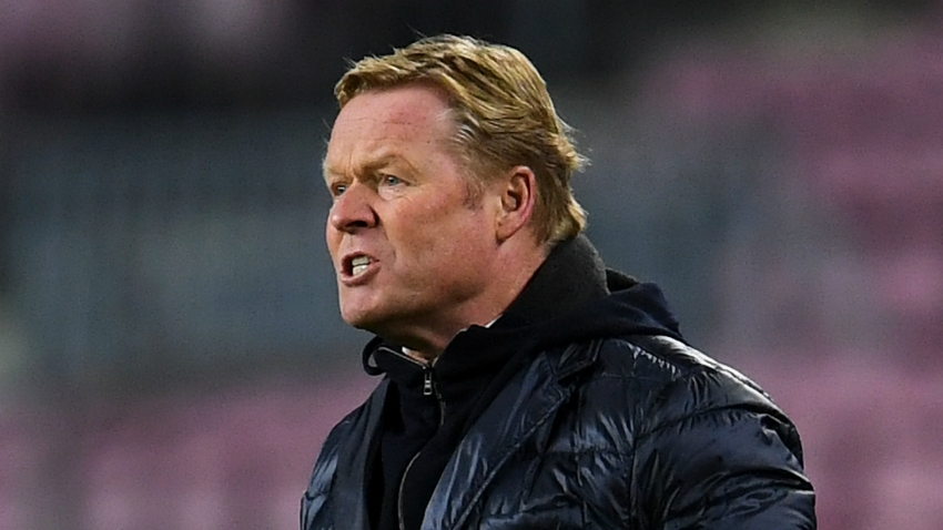 Koeman defends right to criticise Barca stars: 'If not, bring in another coach'