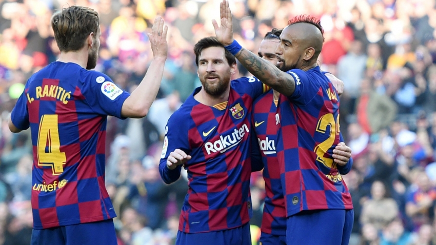 Barcelona 5-0 Eibar: Marvellous Messi flexes his muscles ahead of pivotal week