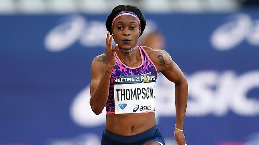 Elaine Thompson stays strong for 200 win in London