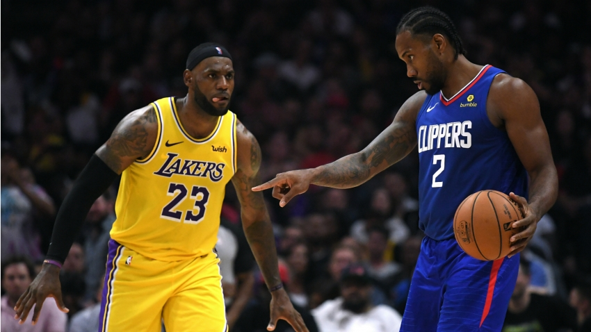 Emotional Kawhi Leonard hails 'amazing' LA return after winning Clippers debut