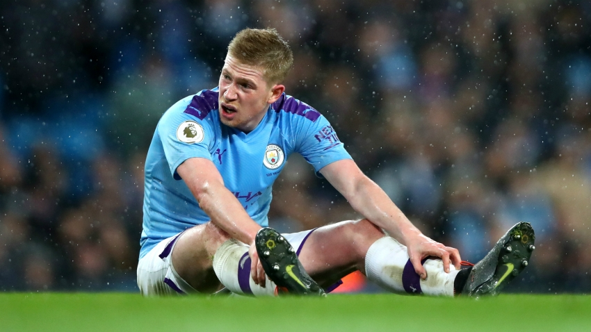 Coronavirus: De Bruyne recommends voided season amid injury fears
