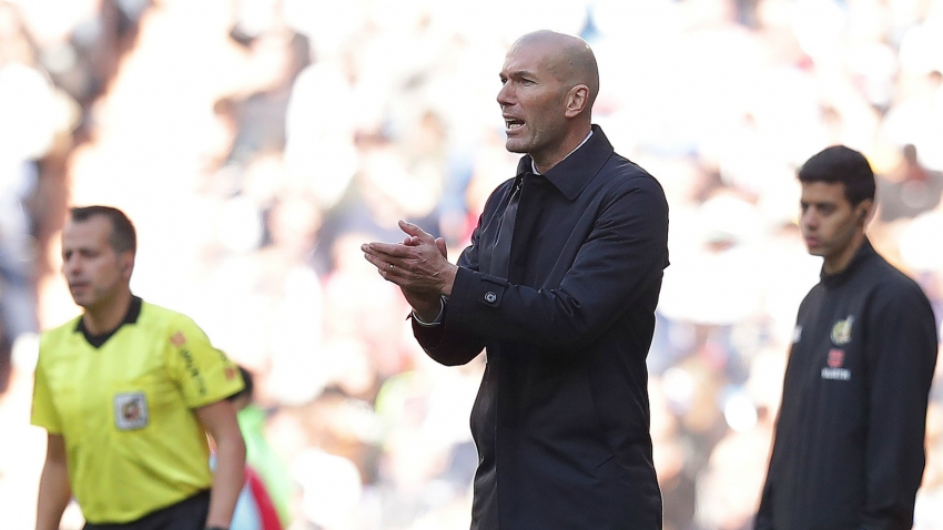 Zidane finds positives as Real Madrid edge out Espanyol