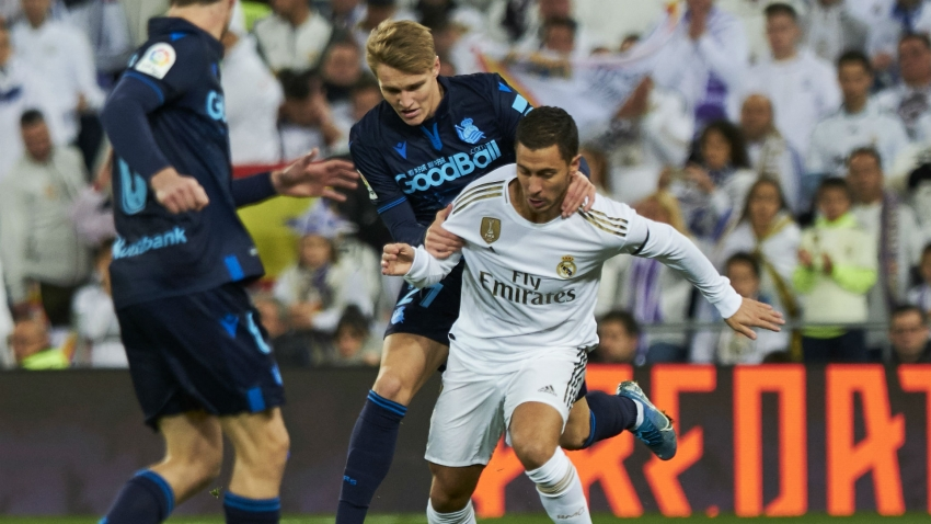 Zidane hoping for Odegaard impact but uncertain on Hazard return