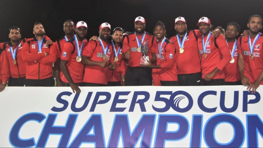 Perfect T&T Red Force rout Guyana Jaguars to claim Clive Lloyd Super50 trophy