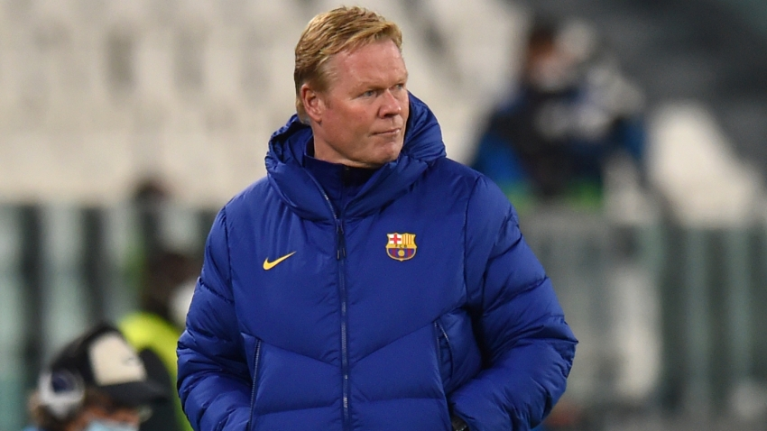 Unworried Koeman hopes he is told if Barcelona situation changes