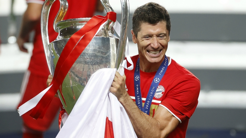 Lewandowski out to surpass Ronaldo – Champions League in Opta numbers