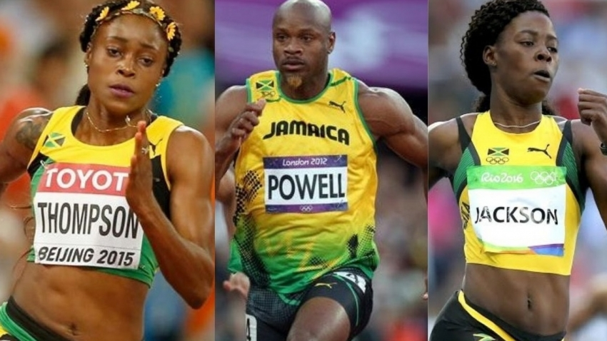 Thompson-Herah, Shericka Jackson and Asafa Powell named to Jamaica's World Relays team