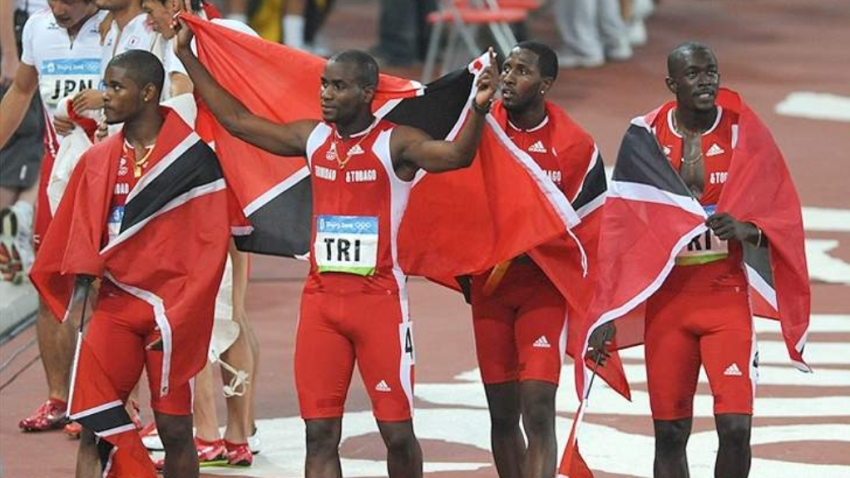 T&T 4x100 athletes officially advised of 2008 gold medals