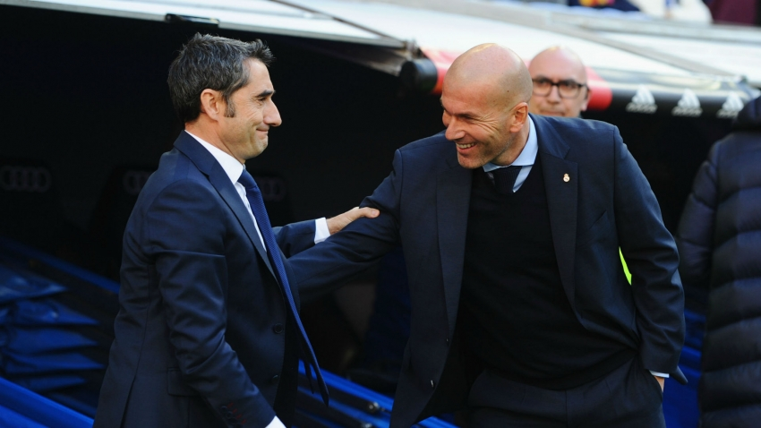 Zidane 'sorry' for sacked Barca boss Valverde