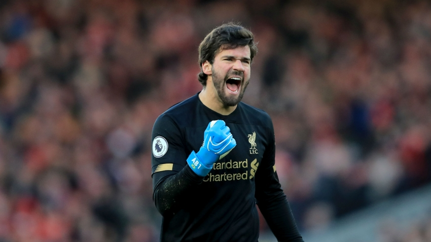 Liverpool's Alisson tops the charts in Stats Perform Goalkeeper Index