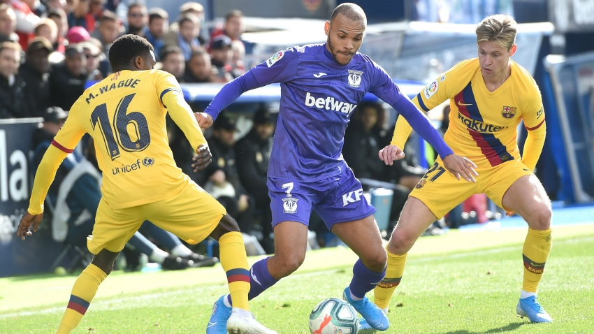 Leganes 'worried' after confirming Barca approach for Braithwaite