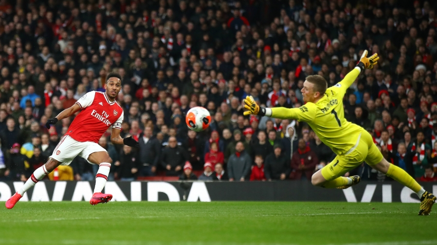 Arsenal 3-2 Everton: Aubameyang's Sunday best sinks Toffees