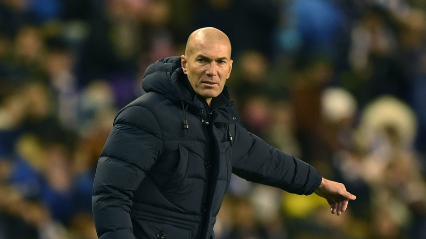 Real Madrid fans would not accept a thousand passes without a shot - Zidane defends style of play