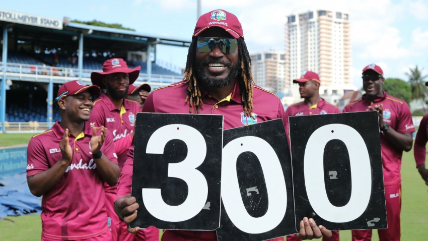 Gayle passes Lara to become Windies record ODI scorer