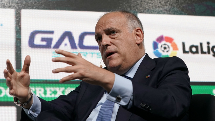 Tebas resigns as LaLiga president but will seek re-election