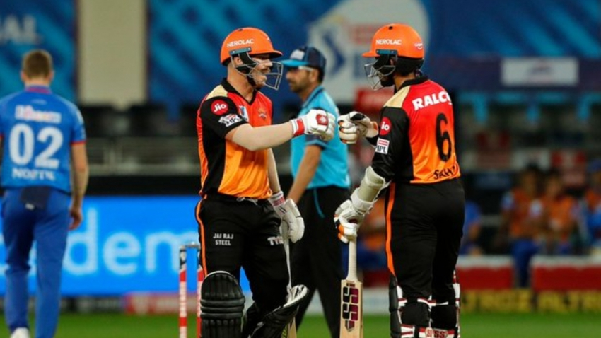 Delhi powerless as Warner and Saha help keep Sunrisers alive