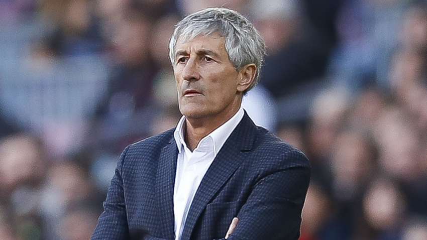 Setien unimpressed with officiating in Barca's win over Getafe