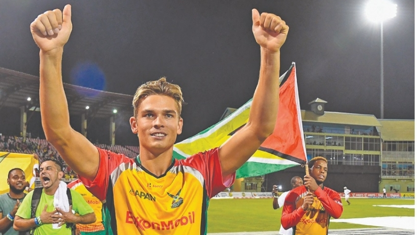 Chris Green to captain Amazon Warriors, Pooran named vice-captain