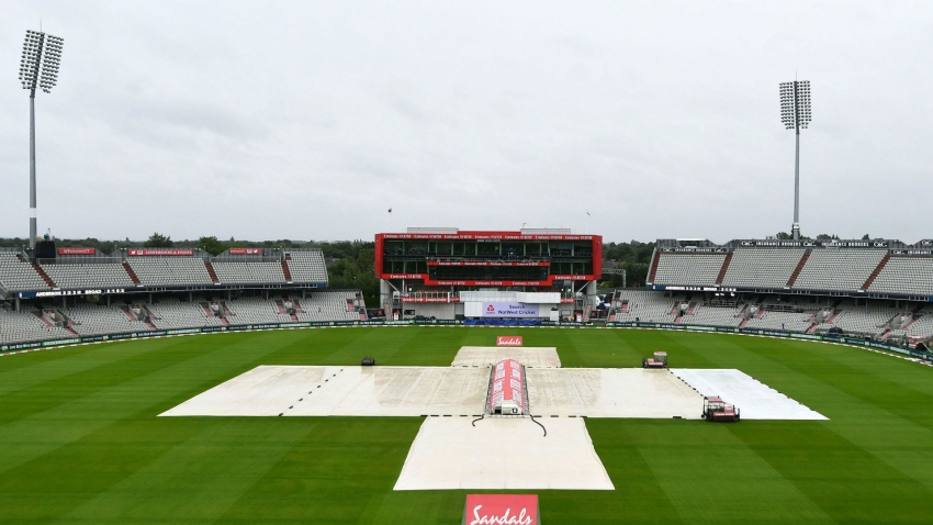 Day four washout holds up England at Old Trafford