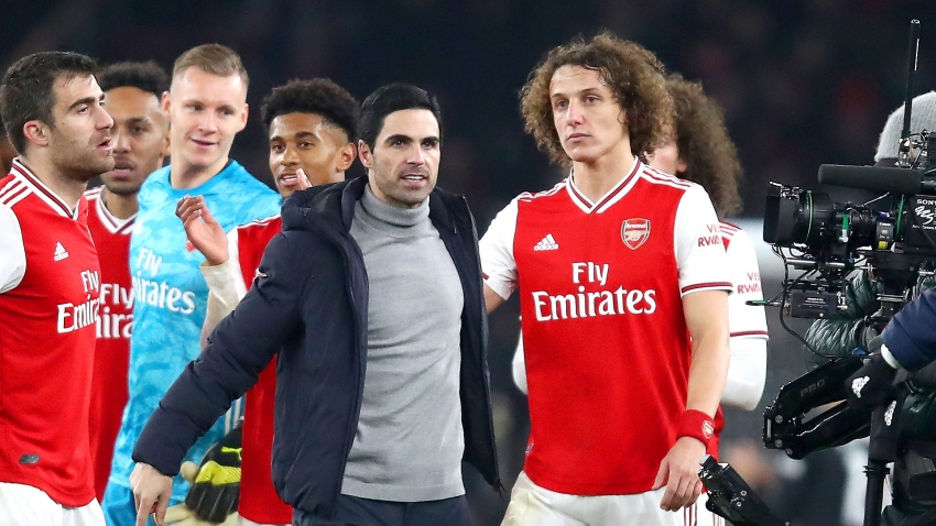 Arteta lauds David Luiz's influence at Arsenal