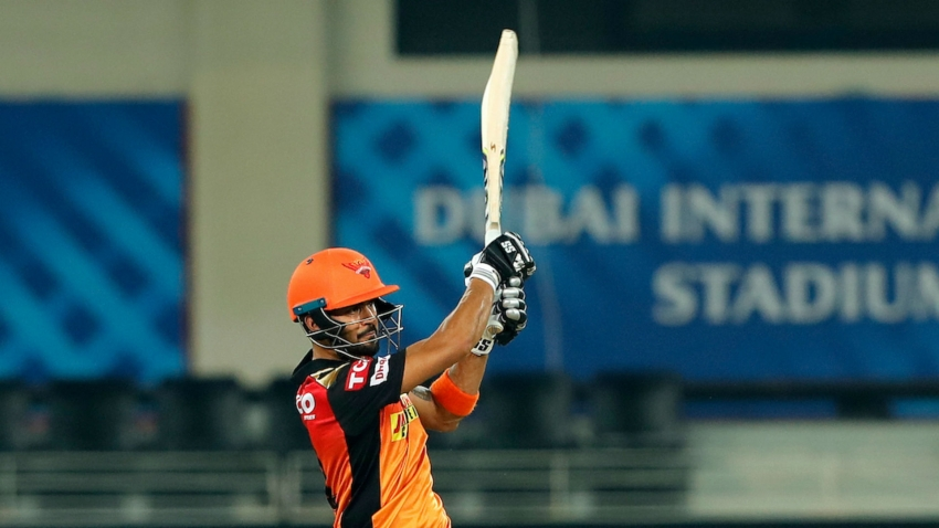 Pandey and Holder step up as Sunrisers end losing streak