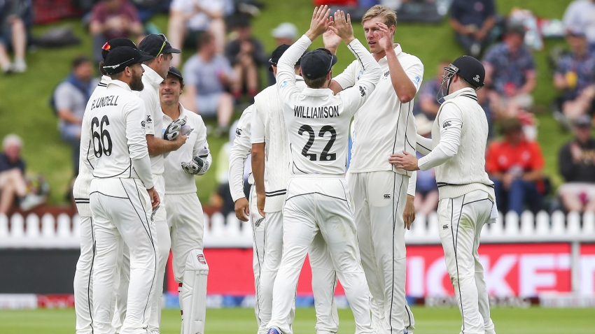 Jamieson shines on debut as New Zealand dominate India