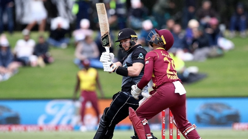 Phillips' maiden 100 condemns Windies to 72-run defeat as New Zealand win T20 series