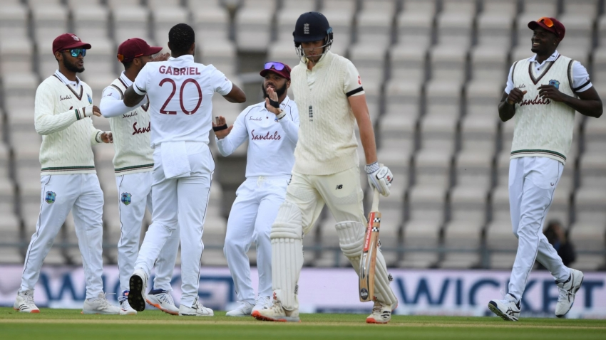 Rain-affected first day sees West Indies make early statement
