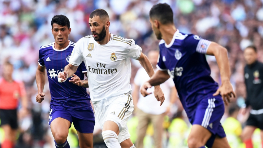 Real Madrid 1 Real Valladolid 1: Guardiola denies Zidane's men