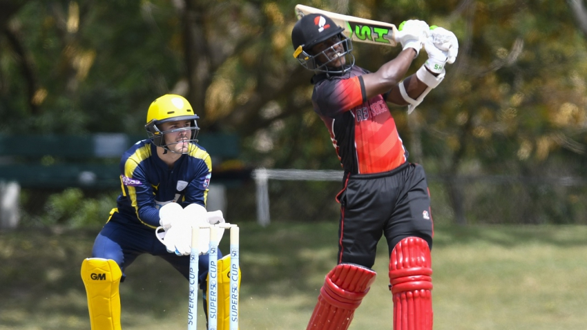 Red Force bats their way to 70-run win over Windies B