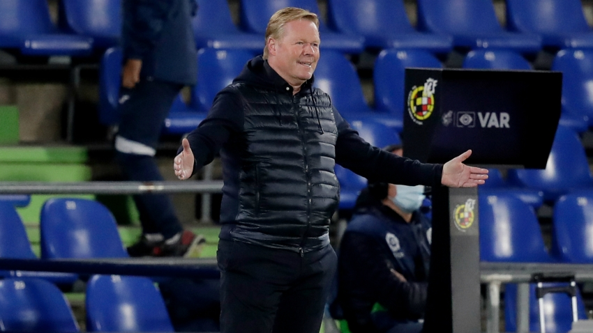 Barca boss Koeman hits out at 'lack of respect' in loss to Getafe