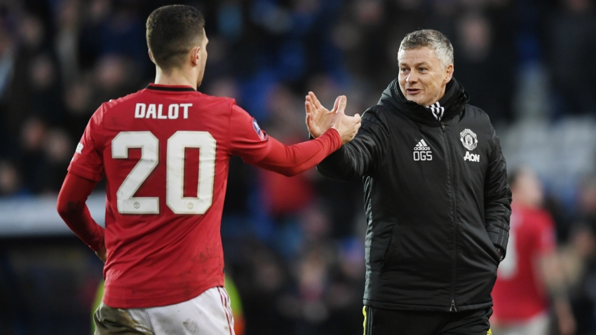 Dalot reflects on 'tough journey' at Man Utd after scoring first Red Devils goal