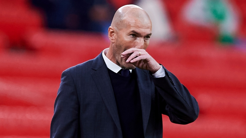 Zidane not focused on Madrid future: 'At the end of the season we will see'