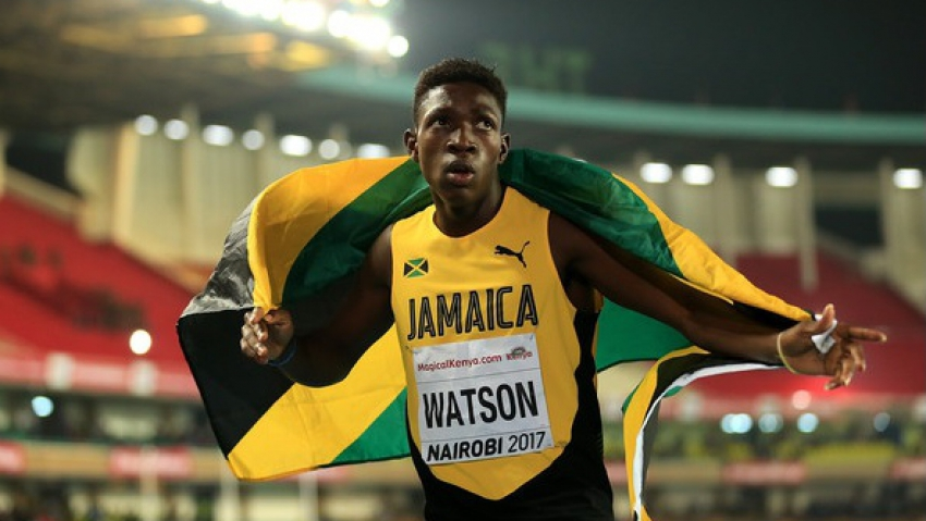 Antonio Watson proud of his YOG 200m silver