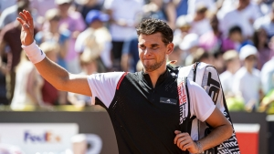 Thiem through but Lajovic loses out at Generali Open