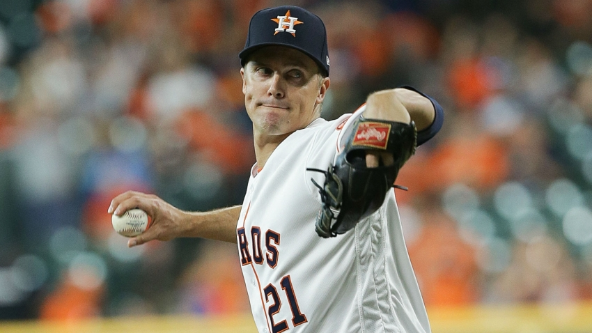 Astros top Rockies in Greinke's debut