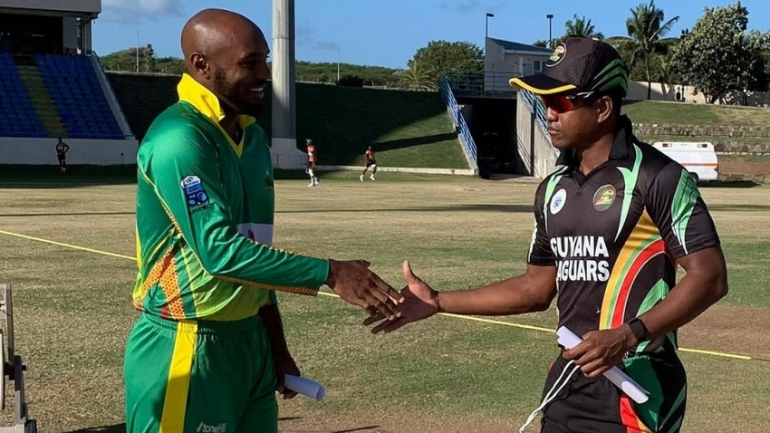 Sunil Ambris wants Windwards batters to do better against Jaguars in Super50 semis
