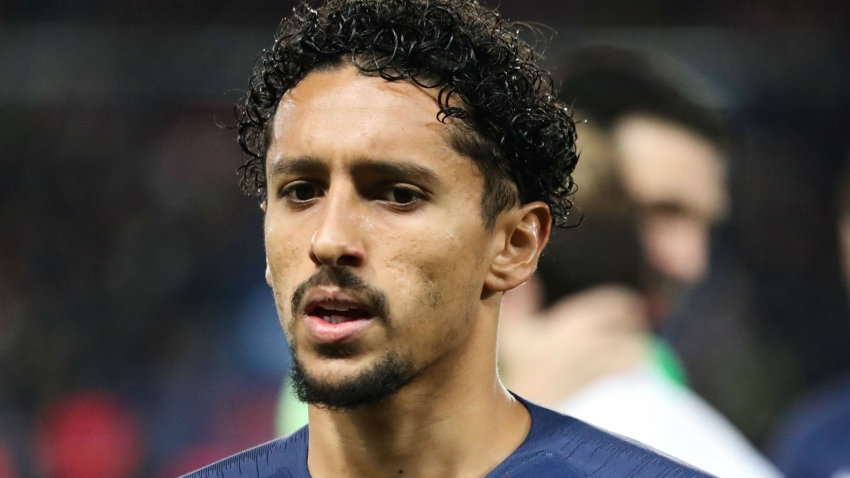 PSG's Marquinhos to miss three weeks with hamstring injury