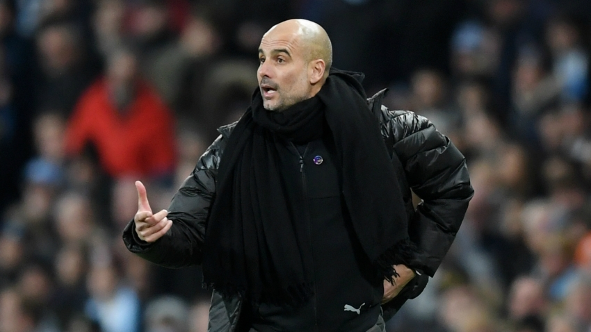 Guardiola vows City 'have to continue' after United dent their Premier League title hopes