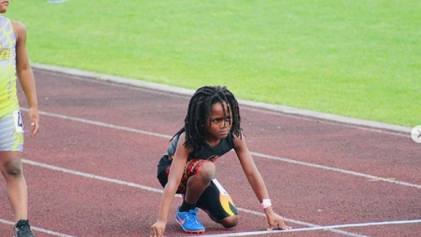 Seven-year-old sprint sensation hailed as next Usain Bolt
