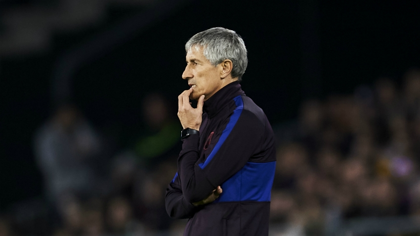 Setien announces legal action against Barcelona after sacking