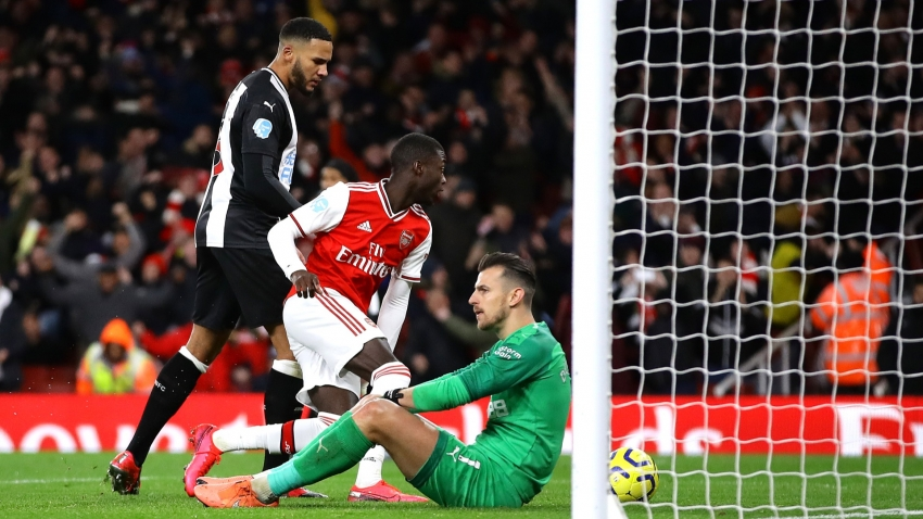 Arsenal 4-0 Newcastle United: Arteta celebrates second league win as Lacazette ends drought