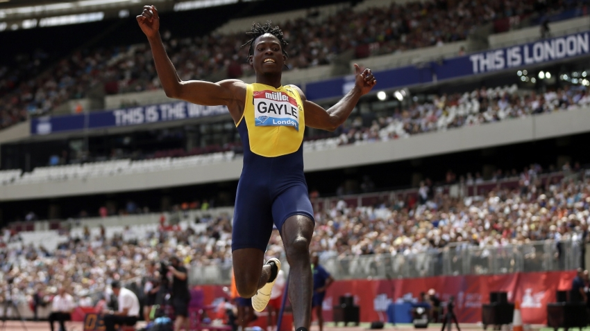 Tajay Gayle finds personal best for second in London
