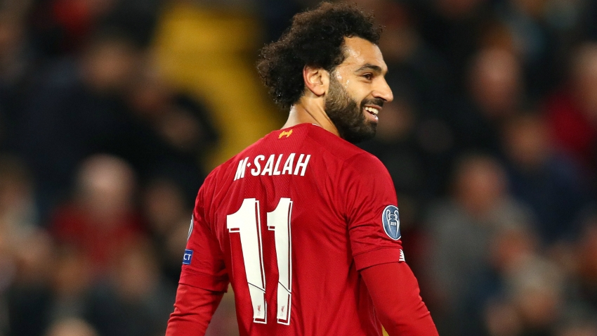 Salah back in Liverpool training ahead of Genk clash