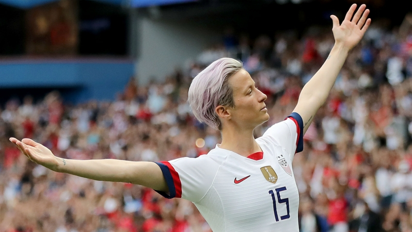 Rapinoe named best women's player at FIFA awards