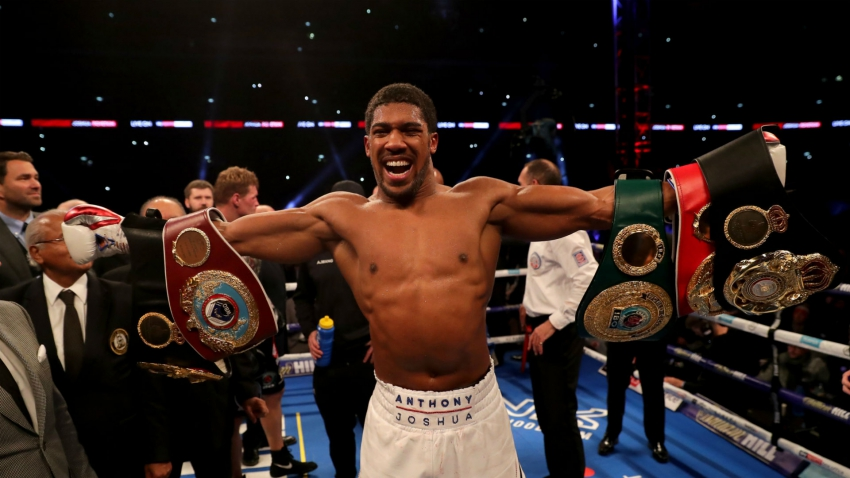 Joshua finds emphatic answer to Povetkin challenge