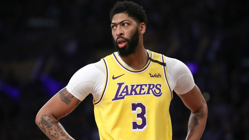 Lakers' Davis to wear own name on jersey
