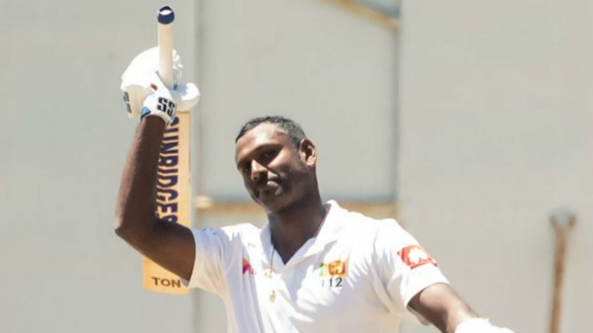 Maiden Mathews Test double-century puts Sri Lanka on top