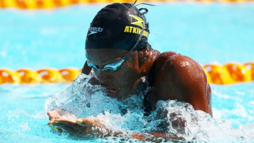 Alia Atkinson becomes most successful 100-metre breaststroke woman in CAC history